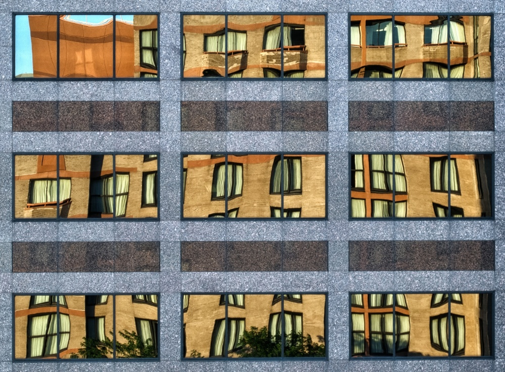 A piece of fine art art photography titled Little Boxes by Anne Worner