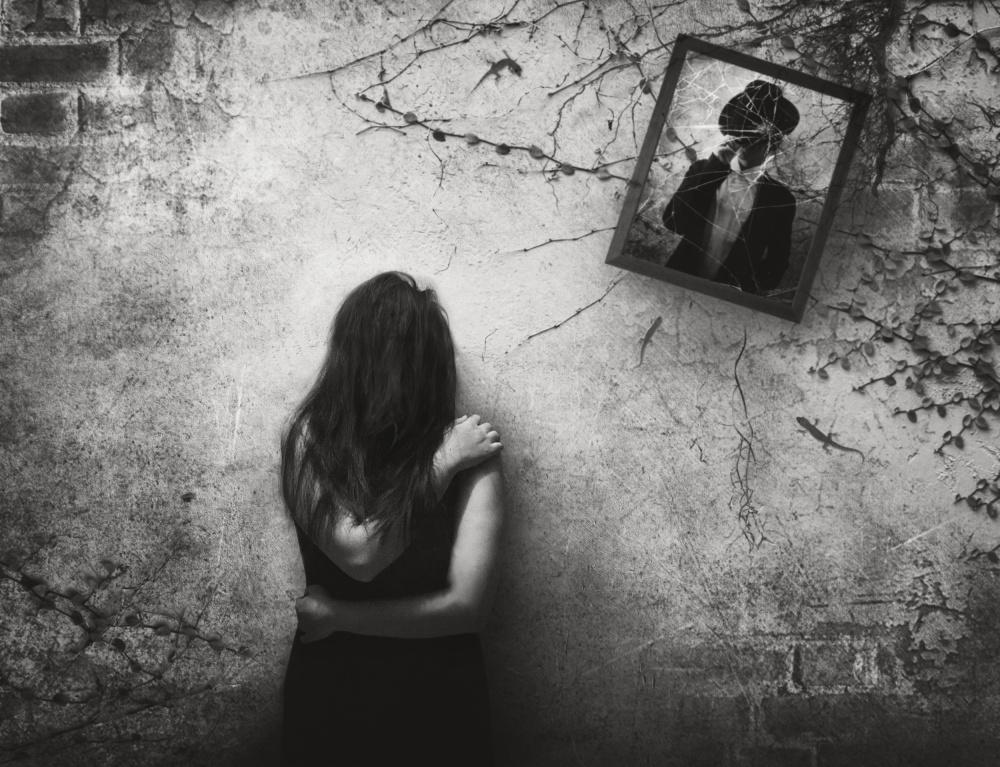 A piece of fine art art photography titled Forgotten by Ivan Marlianto
