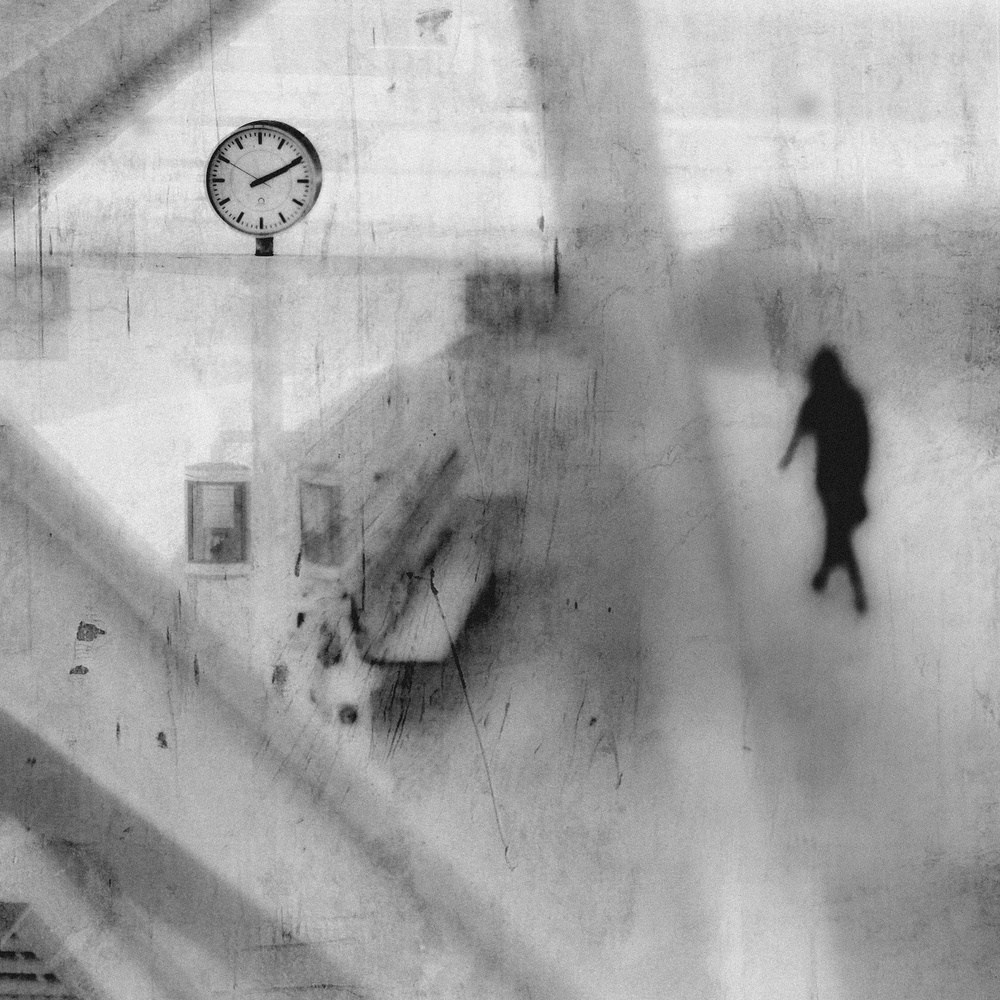 A piece of fine art art photography titled No Time for Goodbye by Rui Correia