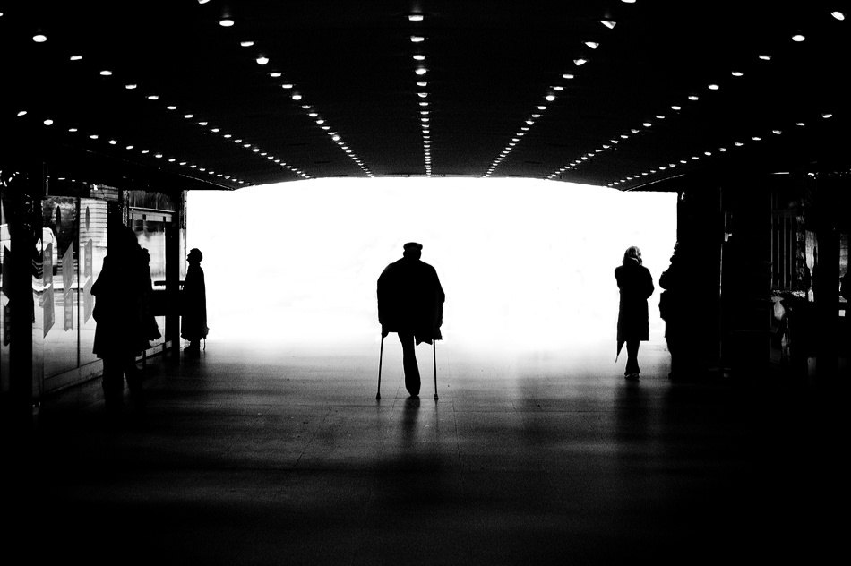 A piece of fine art art photography titled The End of the Journey by Vedran Mandić