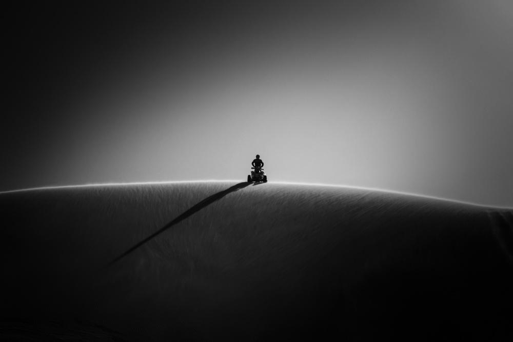 A piece of fine art art photography titled Winner by Oussama Mazouz