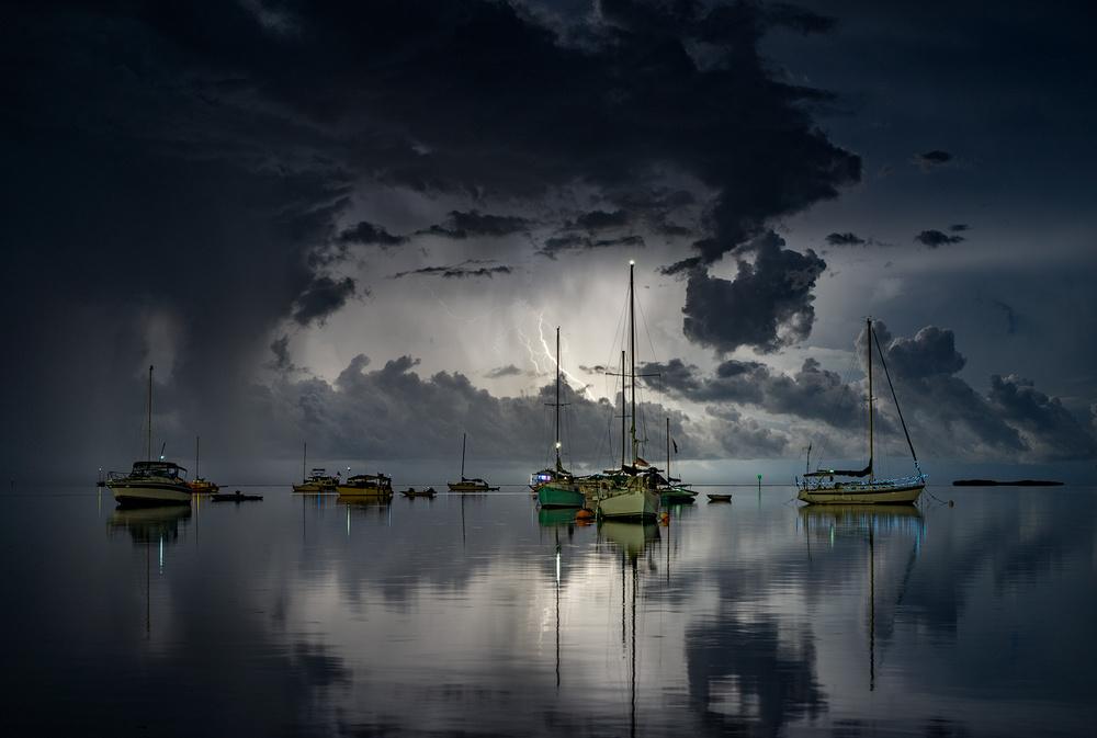 A piece of fine art art photography titled Tropical Storm2 by Alexandru Popovski