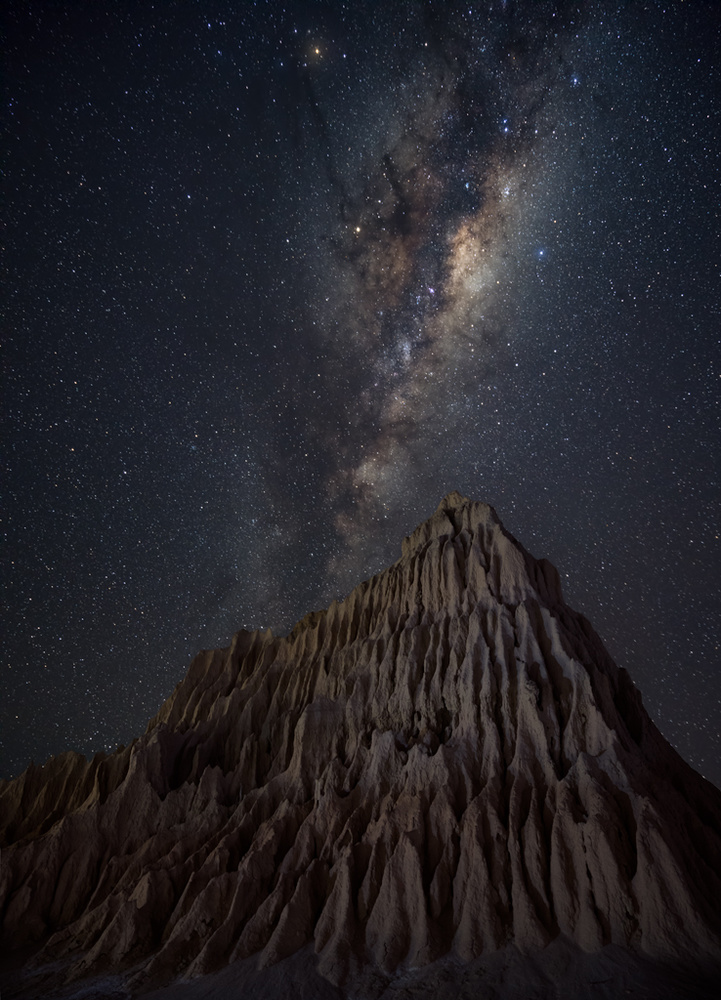 A piece of fine art art photography titled Pyramid In Mungo by Jingshu Zhu