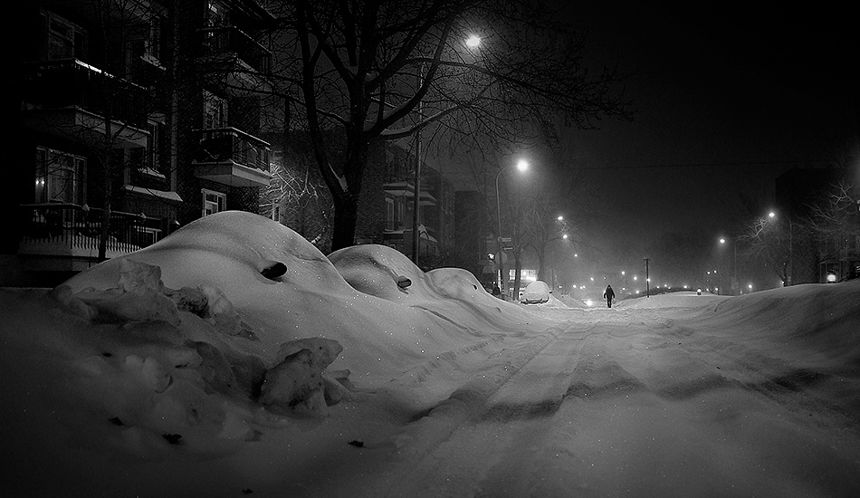 A piece of fine art art photography titled White Night by Mario Jean