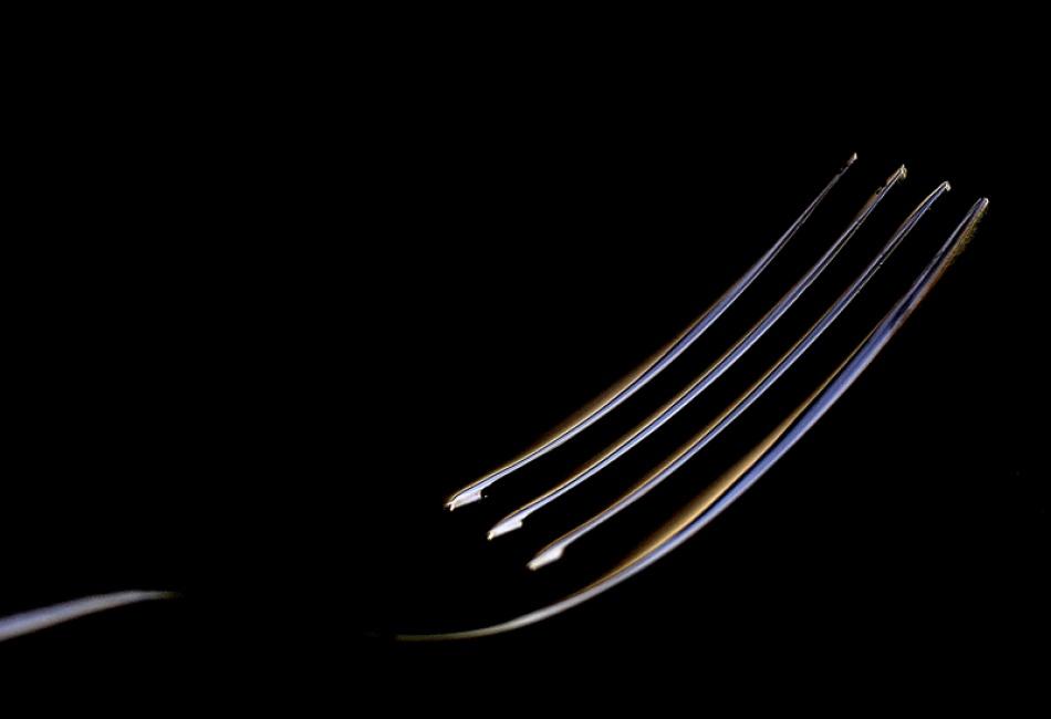 A piece of fine art art photography titled Fork by Earl A. Jones