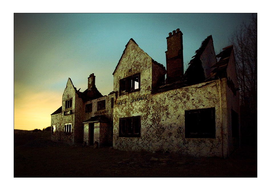 A piece of fine art art photography titled The Horse and Jockey Pub by Tim Johnstone