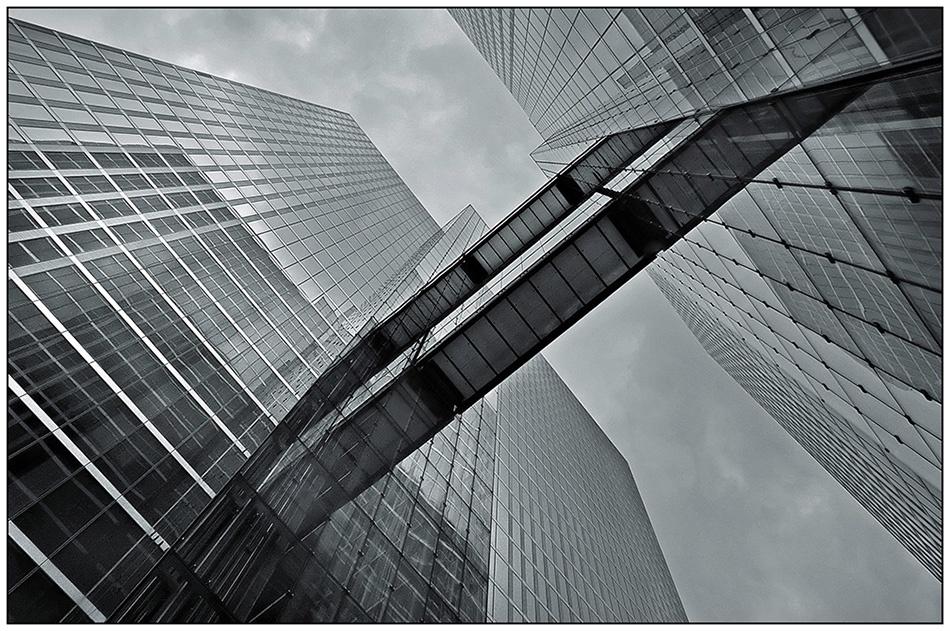 A piece of fine art art photography titled Modern Shapes 1 by Jef Van den Houte