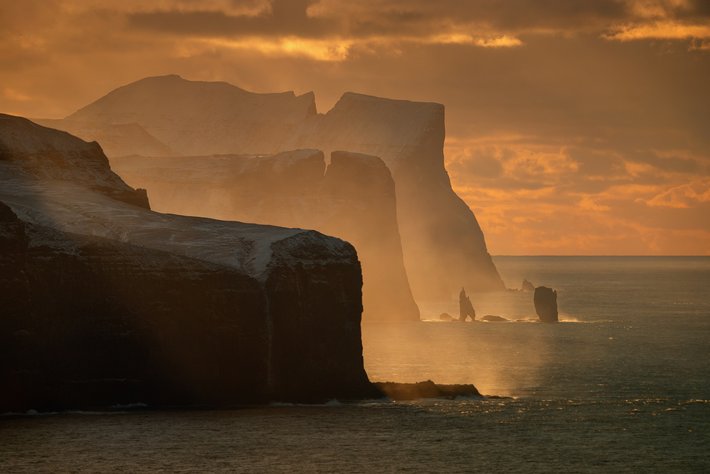 Faroe cliffs