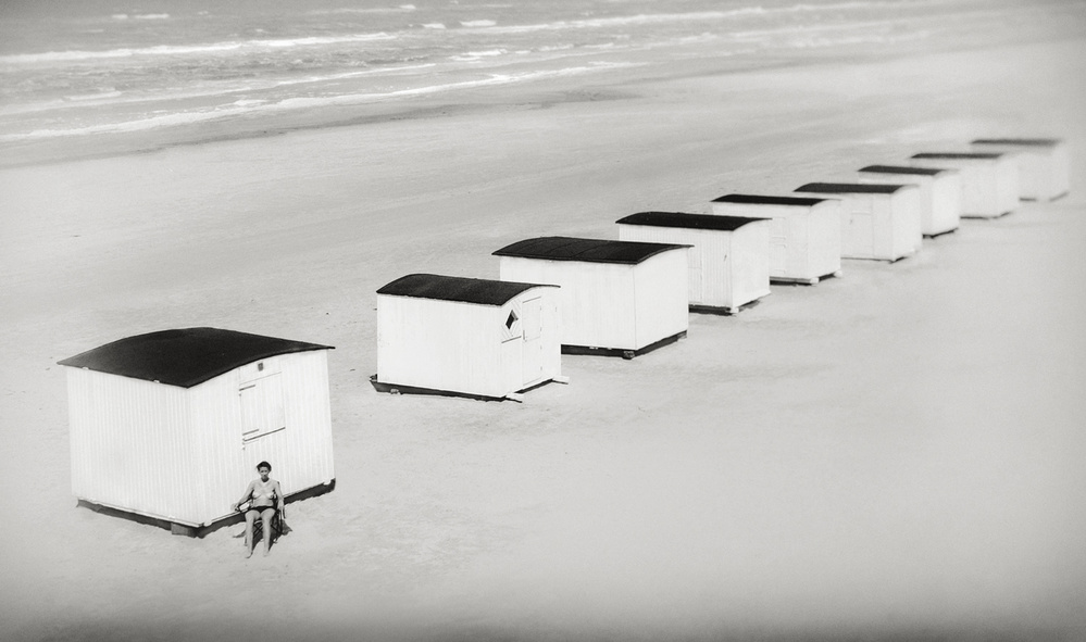 A piece of fine art art photography titled Beach Life by Marianne Siff Kusk