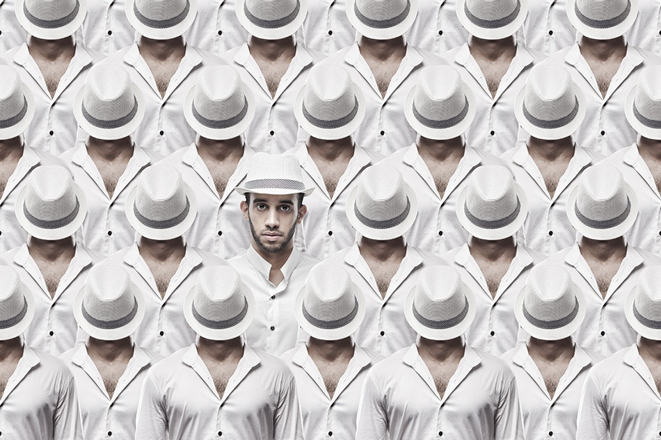 A piece of fine art art photography titled I See You by Raeid Allehyani