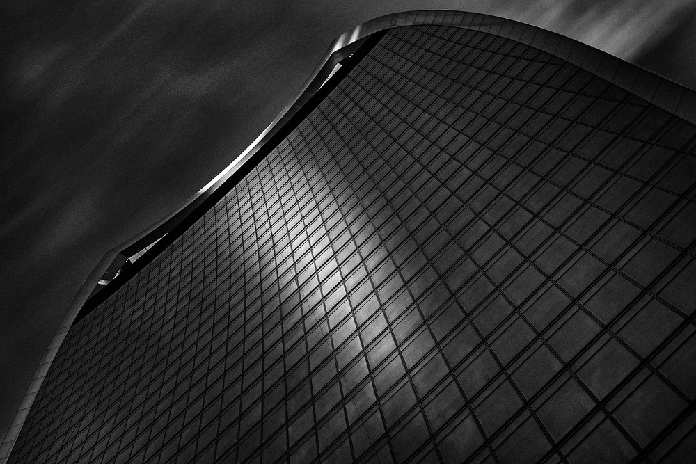 A piece of fine art art photography titled 20 Fenchurch Street by Eric Mattheyses