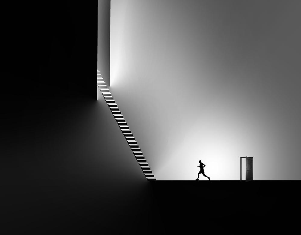 A piece of fine art art photography titled Escape by Iman Tehranian