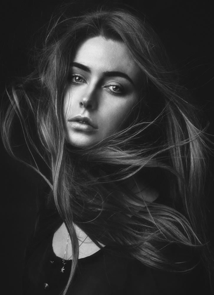 A piece of fine art art photography titled Katya by Zachar Rise