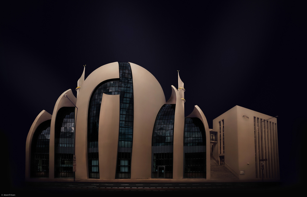 A piece of fine art art photography titled Mosque by Adam Fritzen