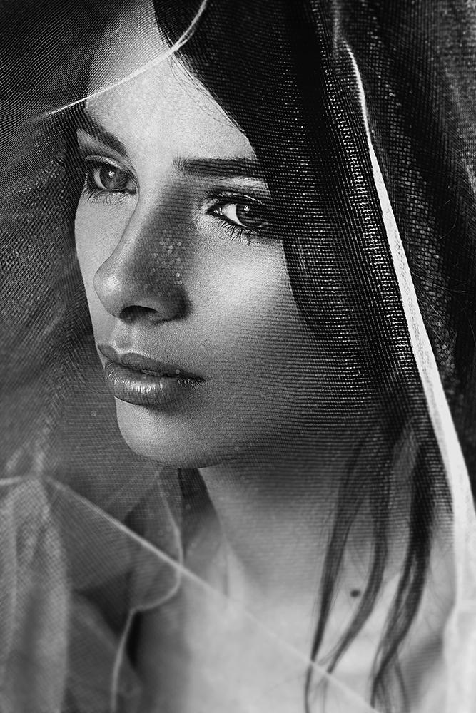 A piece of fine art art photography titled Vika by Vitaliy Reznichenko