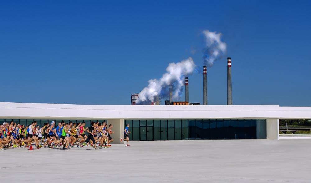 A piece of fine art art photography titled Run & Run by Osmel