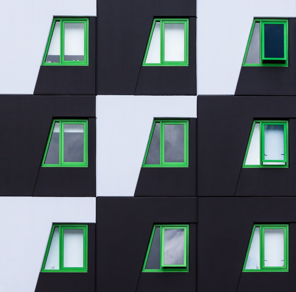 A piece of fine art art photography titled Noughts and Crosses by Jacqueline Hammer