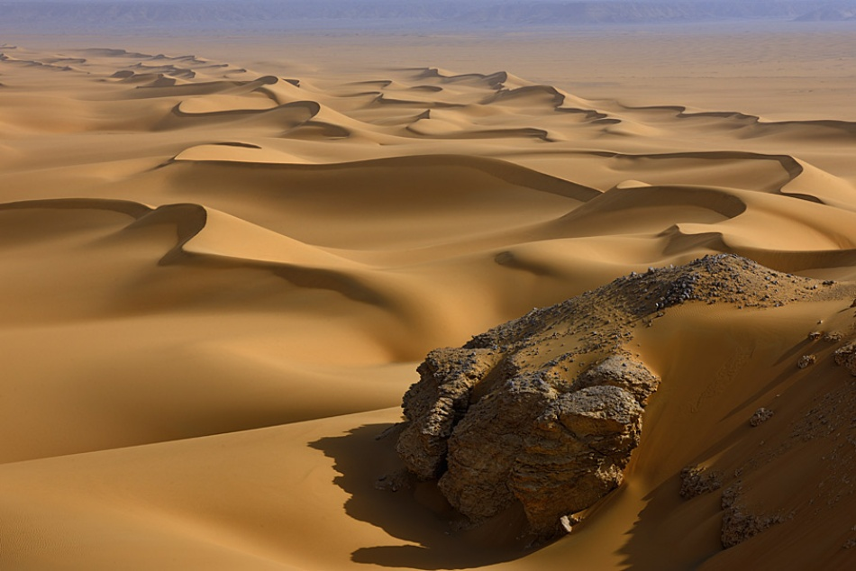 A piece of fine art art photography titled Dunelines In Egyprt by Dionys Moser