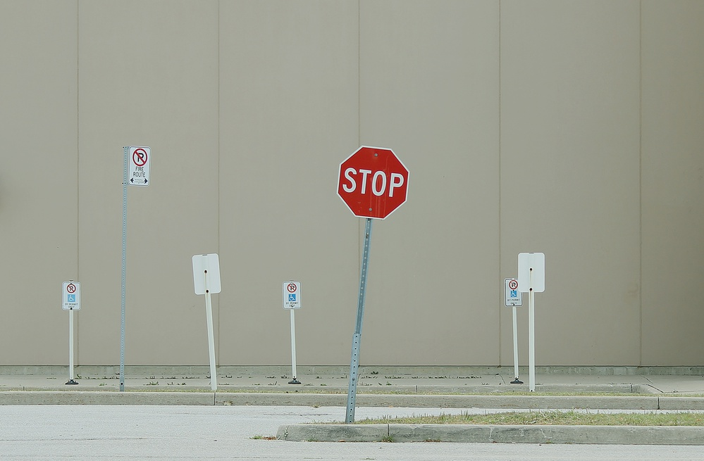 A piece of fine art art photography titled Signs by Jian Wang