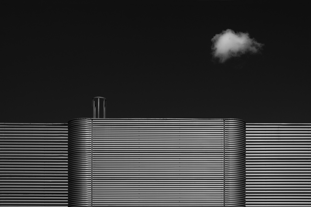 A piece of fine art art photography titled Facade Design by Rolf Endermann