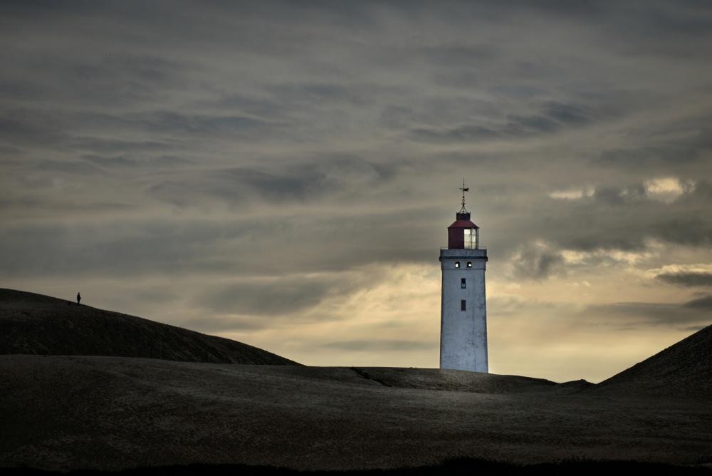 A piece of fine art art photography titled Abandoned Lighthouse by Lotte Grønkjær
