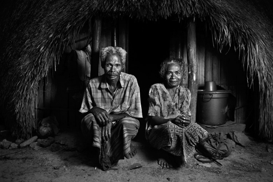 A piece of fine art art photography titled Husband and Wife by Mitchell Kanashkevich