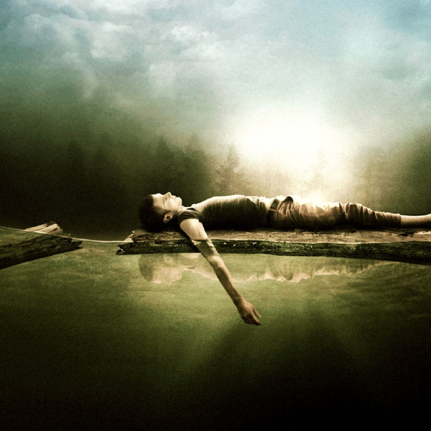 A piece of fine art art photography titled I Was Talking to You by Martin Stranka