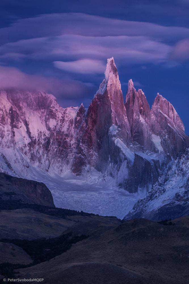 Cerro Torre blue mood