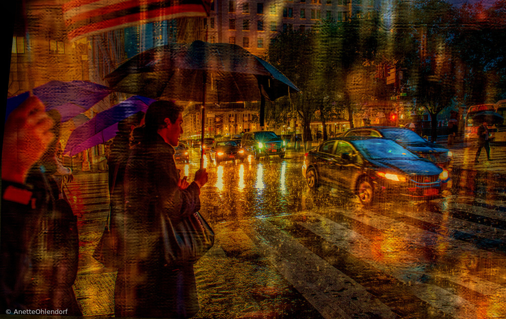 View this piece of fine art photography titled  under the umbrella by Anette Ohlendorf