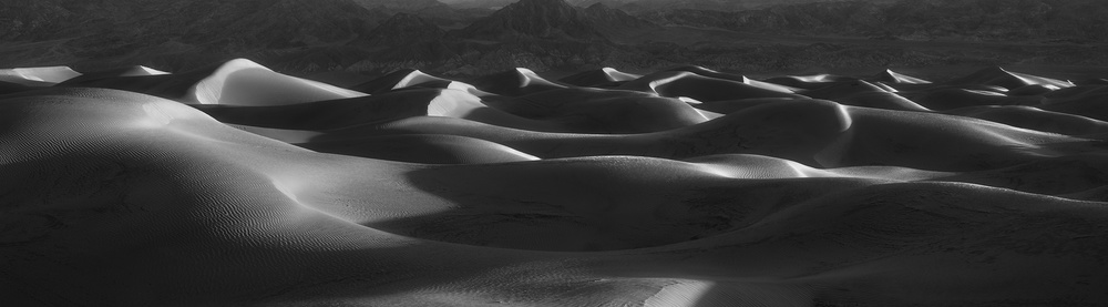 A piece of fine art art photography titled Winter Dunes by Chad Routhier Photography