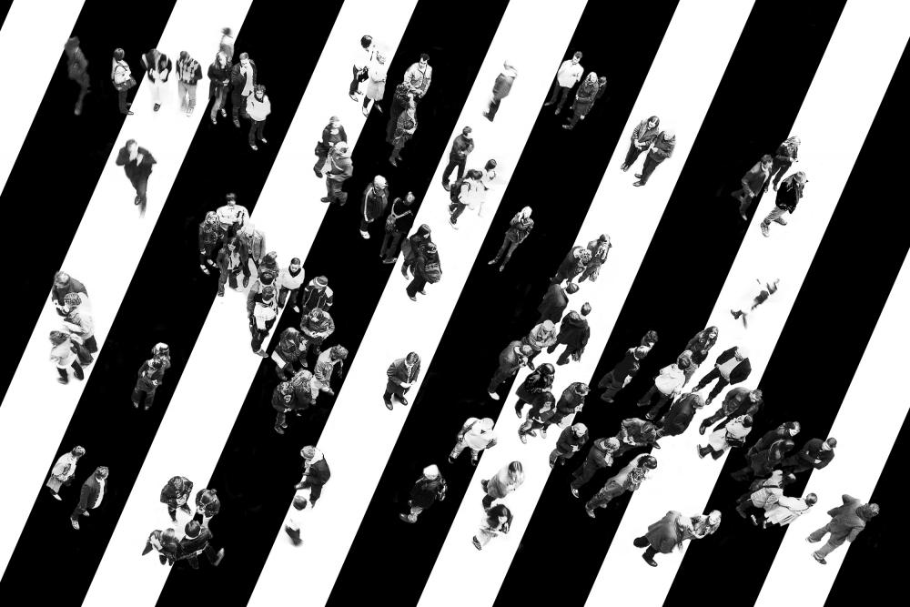 A piece of fine art art photography titled Find Me by Stefan Eisele