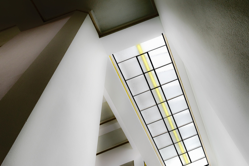 A piece of fine art art photography titled Museum Light by Marc Huybrighs