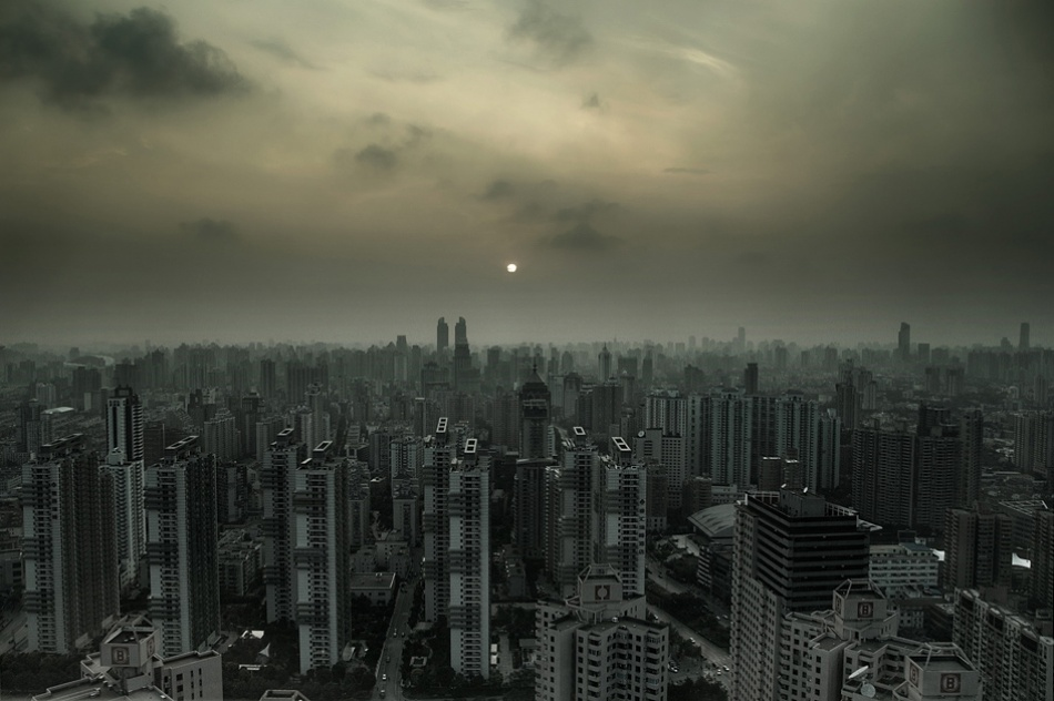 A piece of fine art art photography titled Shanghai by Lev Tsimring