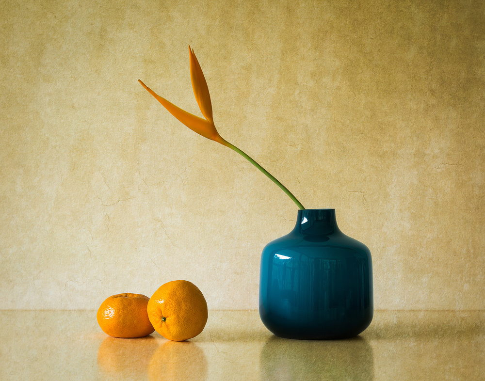 Heliconia and Mandarins