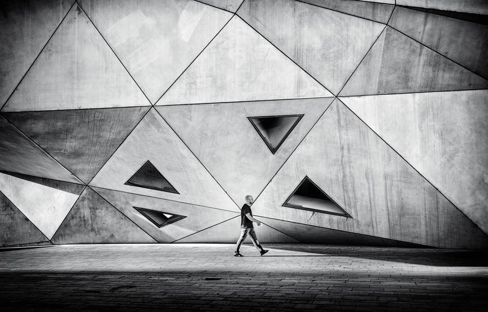 A piece of fine art art photography titled Concrete City by Yuval Shiboli