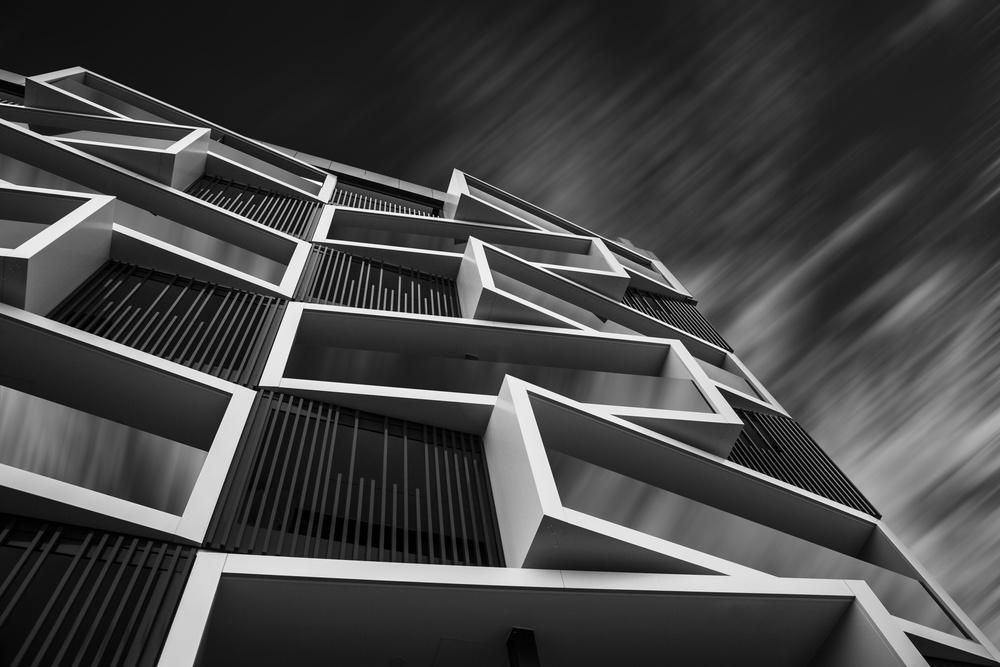 A piece of fine art art photography titled Facade In Lezkairu (Pamplona) by Martin Zalba