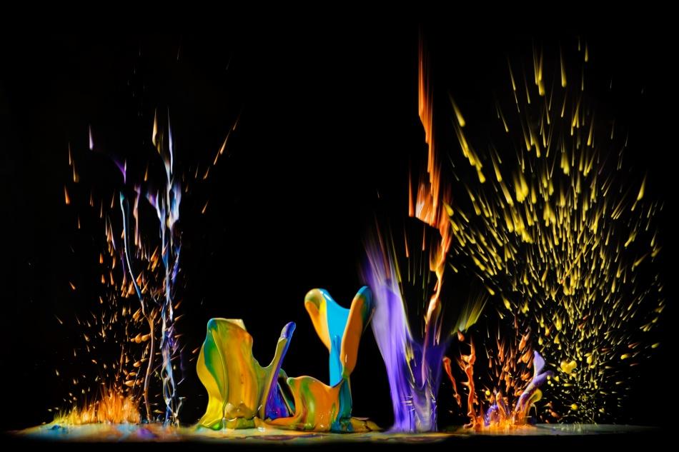 A piece of fine art art photography titled Mixed Colors by Burger Jochen