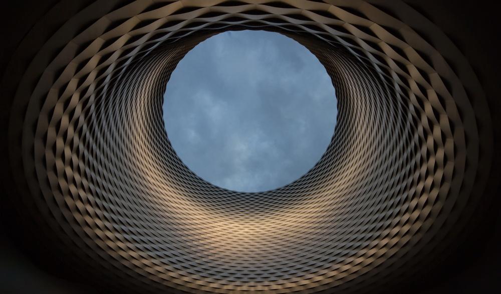 A piece of fine art art photography titled Eye In the Sky by cesare zaniboni