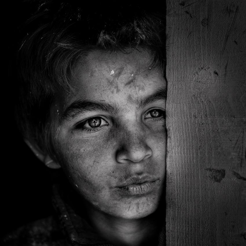 A piece of fine art art photography titled Gipsy Portrait by jose ferreira