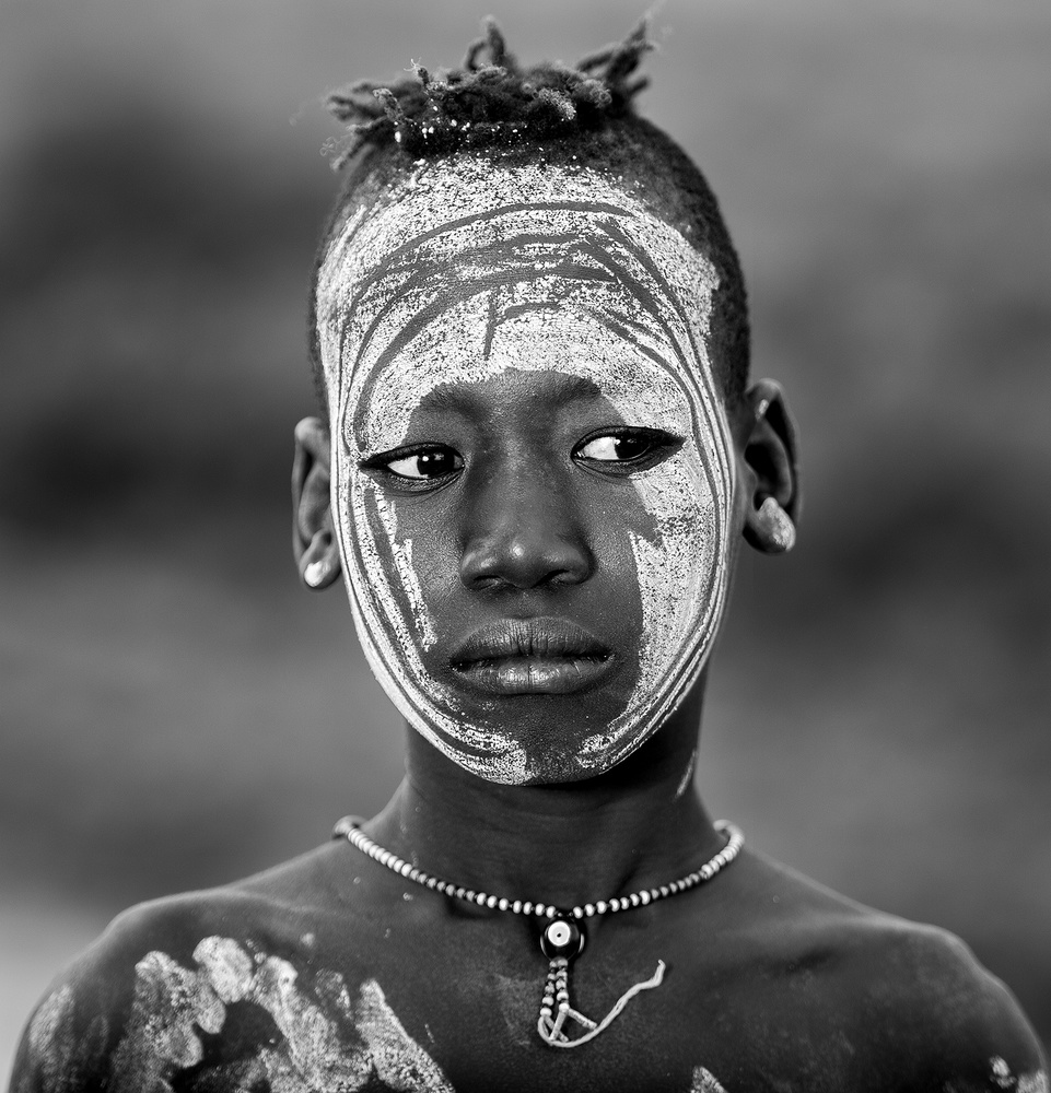 A piece of fine art art photography titled Plated Face by osama alsulami