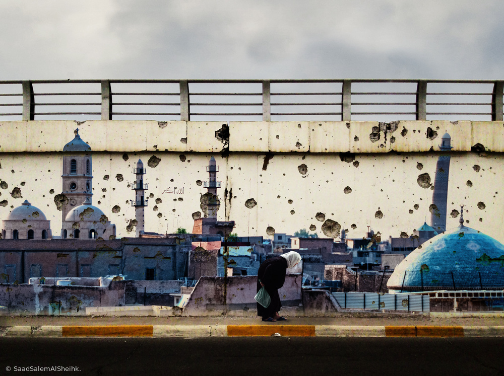 """View this piece of fine art photography titled The story of a city called """" Hadba'a """" (Hunchback). by Saad Salem Al Sheihk."""