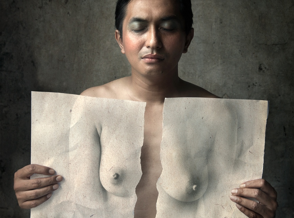 A piece of fine art art photography titled Mind and Body by Sebastian Kisworo