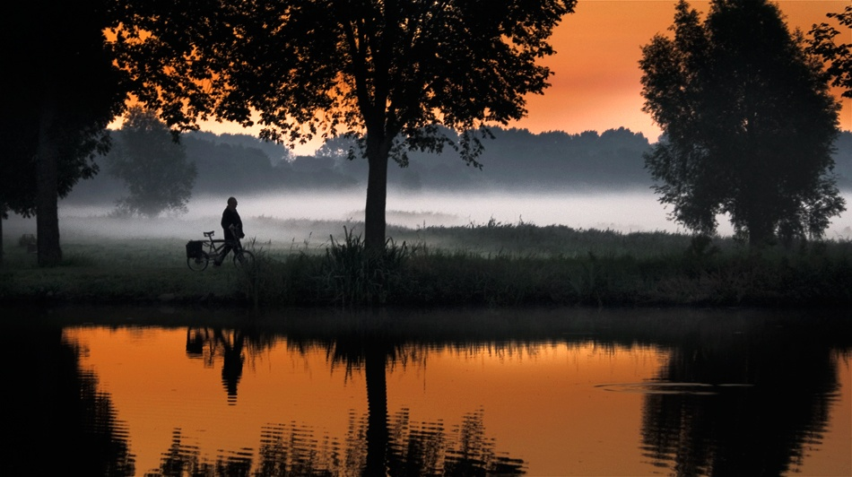 A piece of fine art art photography titled Misty Sunday by Rolan A. Diapari