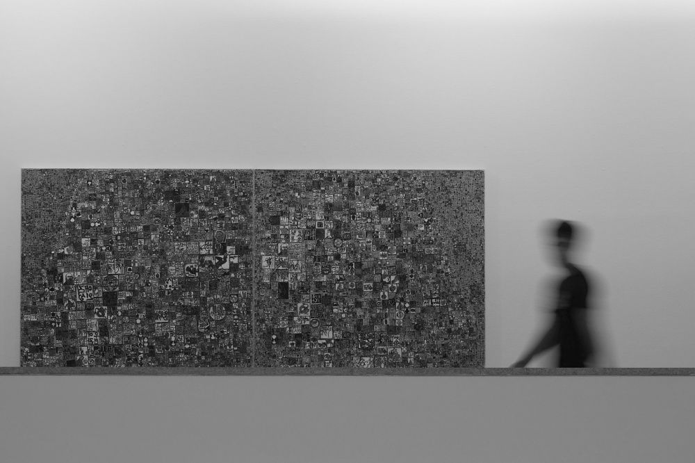 A piece of fine art art photography titled In the Museum by dong hee HAN