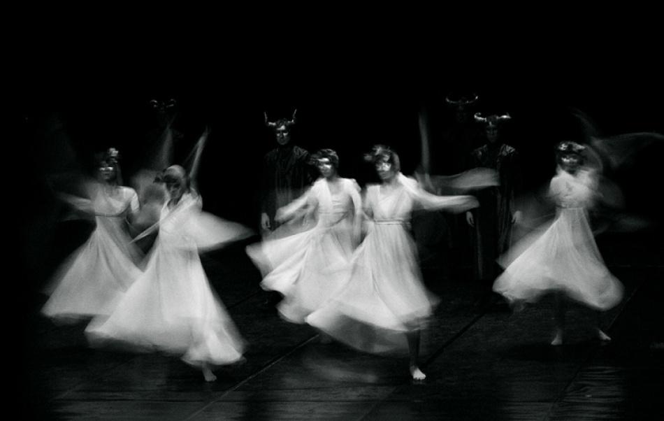 A piece of fine art art photography titled Dance by Vladimir666