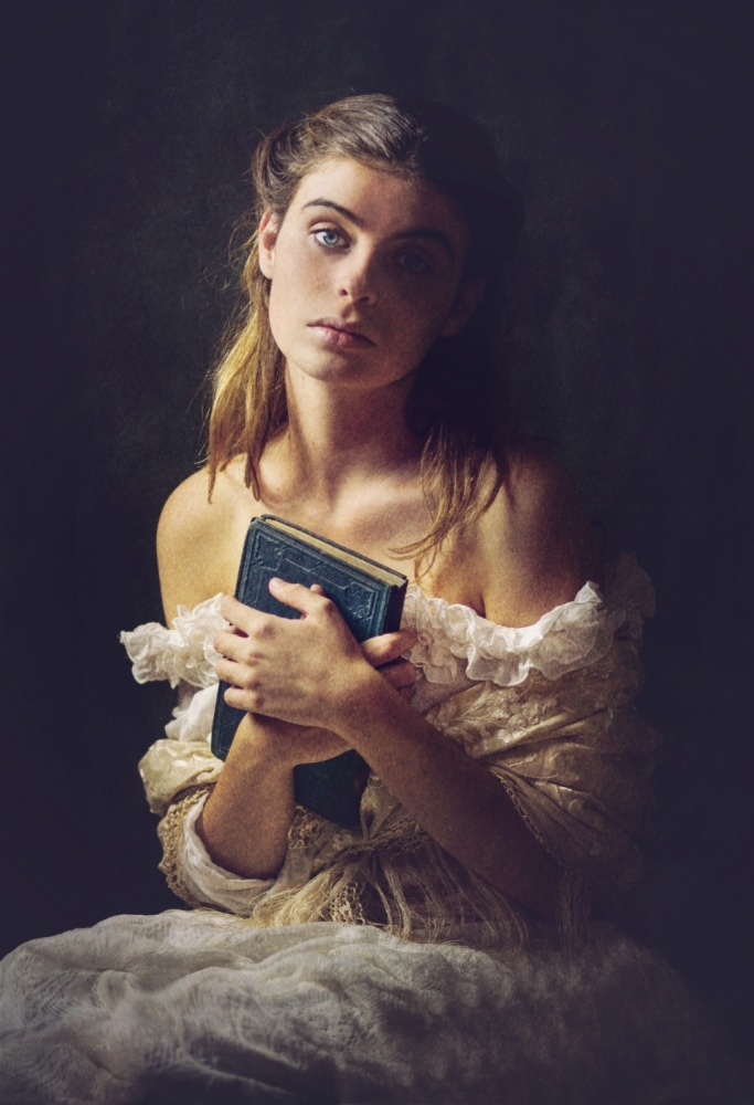 A piece of fine art art photography titled Louise by Marta Everest
