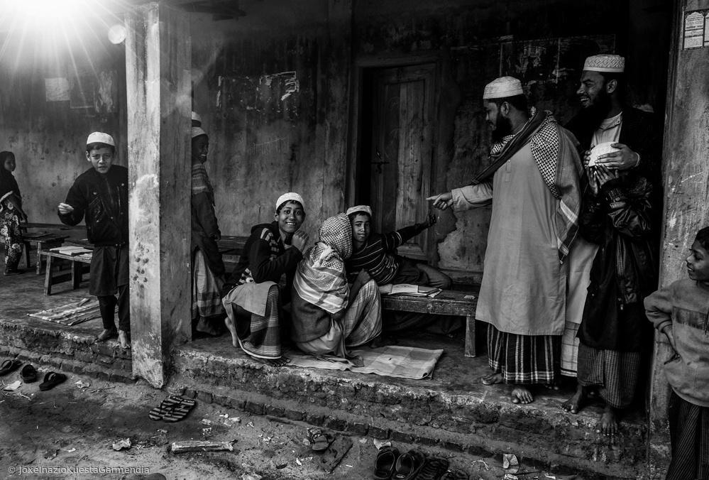 In a madrasa- Bangladesh