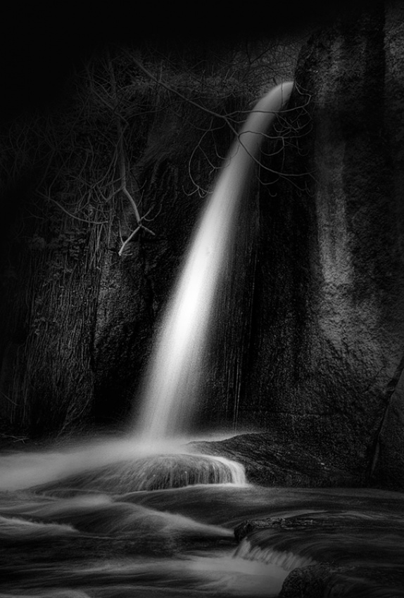 A piece of fine art art photography titled The Fall by maurizio blasetti