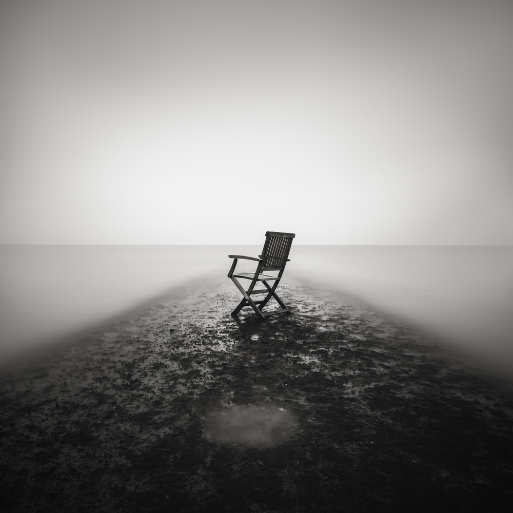 A piece of fine art art photography titled Sit Down and Relax by Christophe Staelens