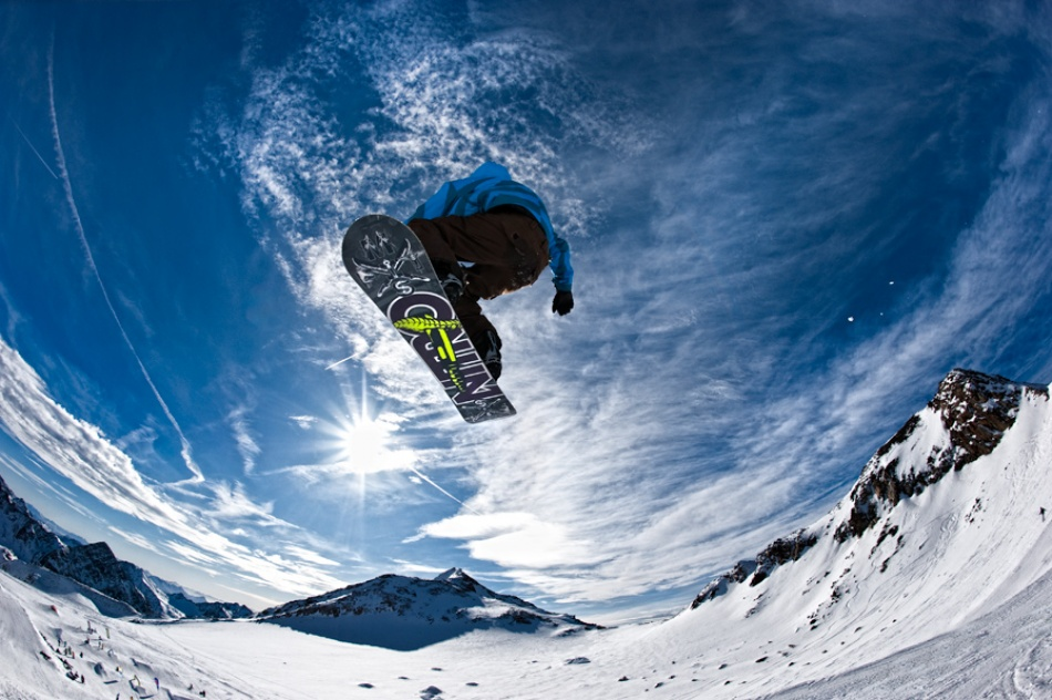 Sky surfer